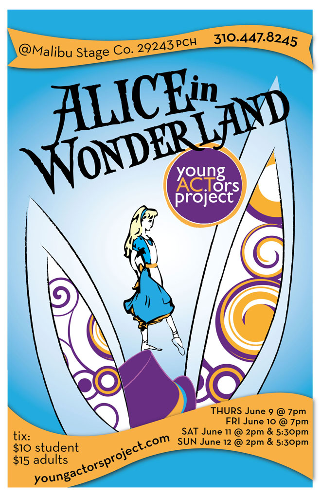 Alice Performance Poster